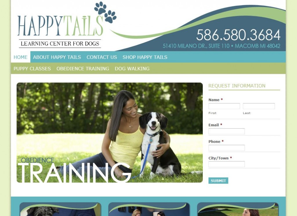Happy Tails Learning Center for Dogs