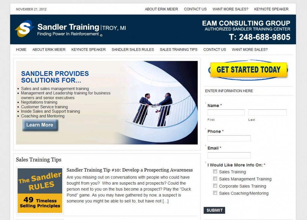 Training for Sales Michigan