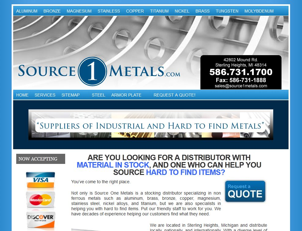 Source One Metals