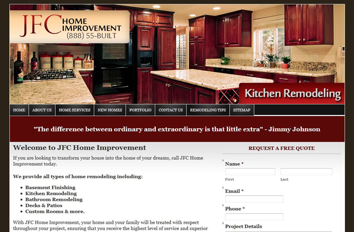 Home Improvement Sites website design, seo, home improvement contractor | rochester hills mi