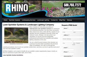 Rhino Lawn Sprinkler Systems