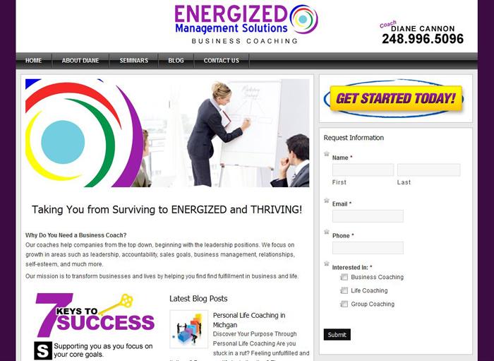 Website Design for Business Coaches MI