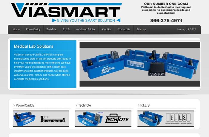 Website Design for Medical Supplier MI