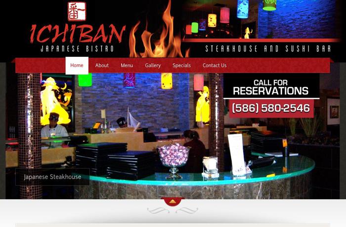 Website Design for Restaurant in MI