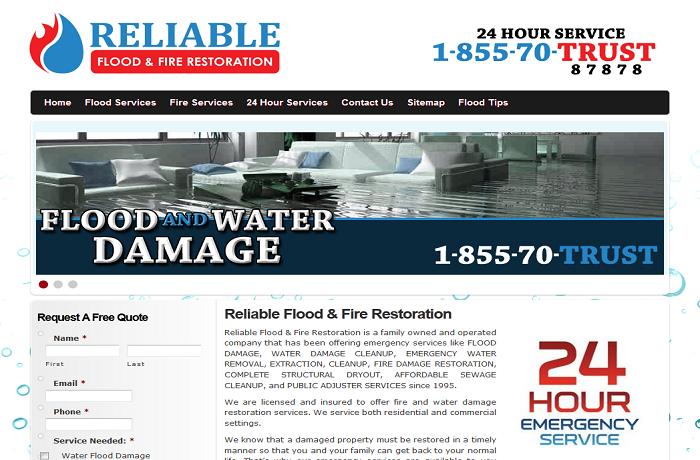 Website Markeitng for Restoration Company MI