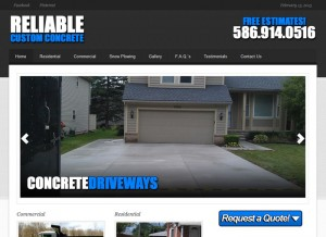Reliable Custom Concrete, Inc
