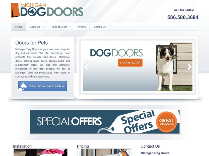 Website SEO Online Pet Products MI